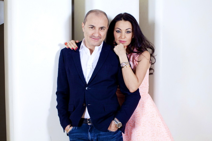 Михаил Турецкий с женой. / Фото: www.sopranomusic.ru
