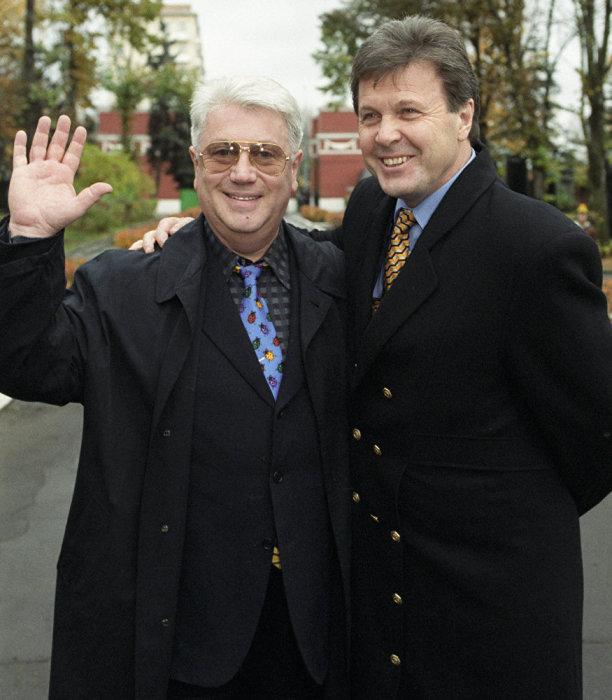 Лев Лещенко и Владимир Винокур. / Фото: www.sputniknews.ru