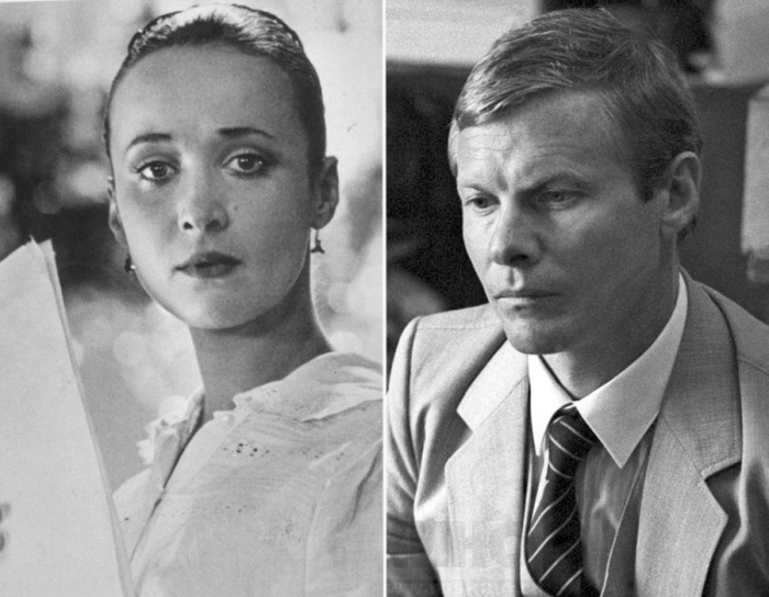 Ирина Печерникова и Виталий Соломин.