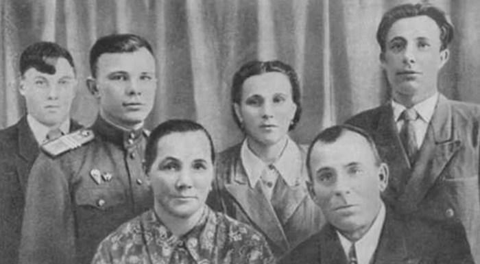 Семья Гагариных. / Фото: www.оввакул.рф