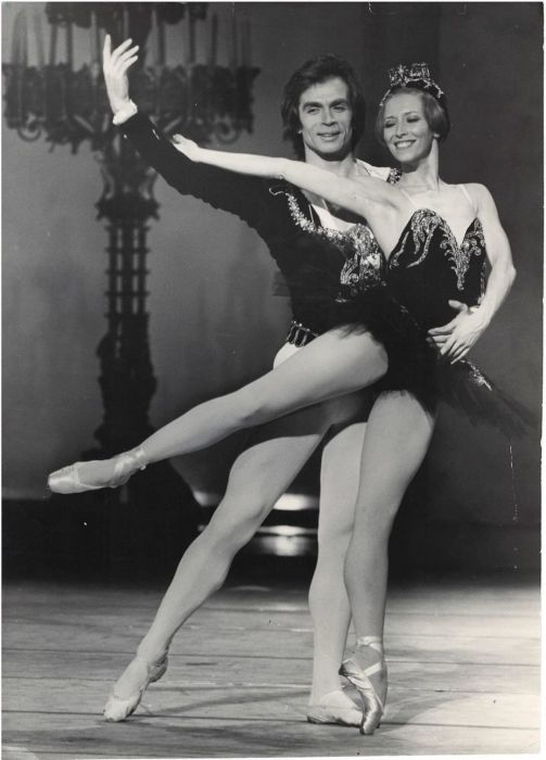 Наталия Макарова и Рудольф Нуреев. / Фото: www.bidspirit.com