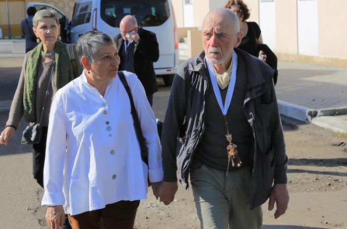 Людмила Улицкая и Андрей Красулин. / Фото: www.kolomna-art.pro