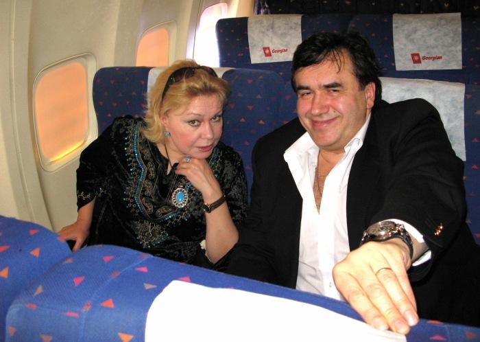 Ольга Богданова и Станислав Садальский. / Фото: www.mtdata.ru