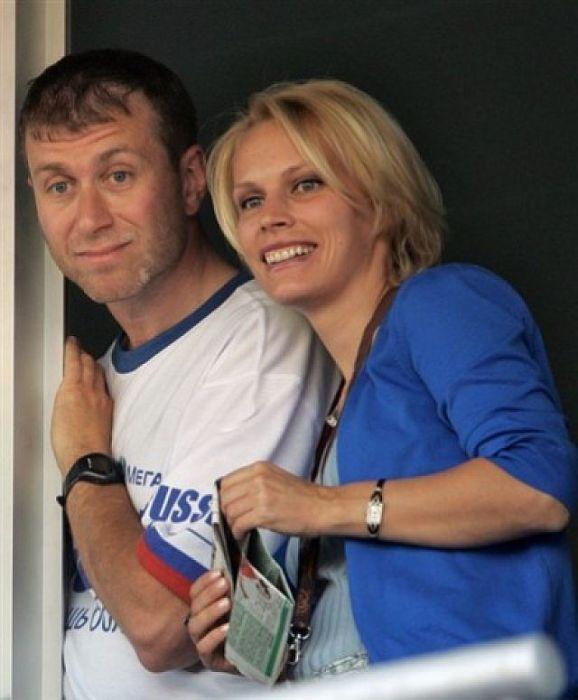 Роман и Ирина Абрамович. / Фото: www.dayonline.ru