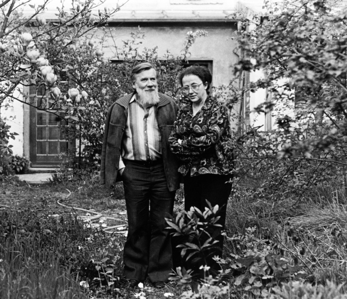Мария Розанова и Андрей Синявский. / Фото: www.elegantnewyork.com