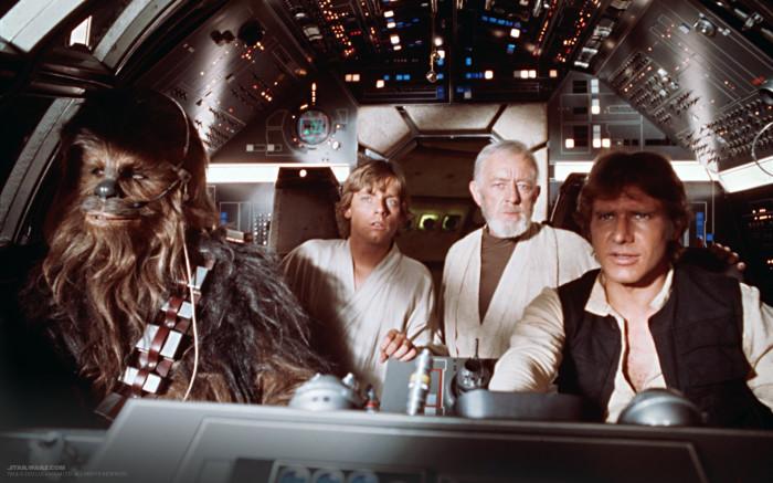 Кадр из фильма «Звездные войны: Эпизод 4 – Новая надежда». / Фото: www.mediasole.ru