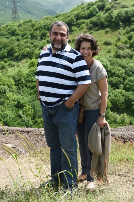 Рубен Варданян и Вероника Зонабенд. / Фото: www.wnews.am