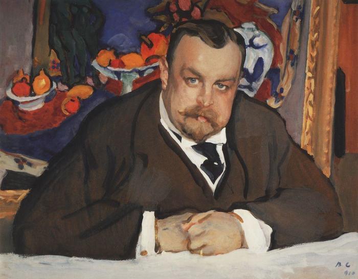 Портрет Ивана Абрамовича Морозова. Валентин Серов. 1910 год. / Фото: www.veryimportantlot.com