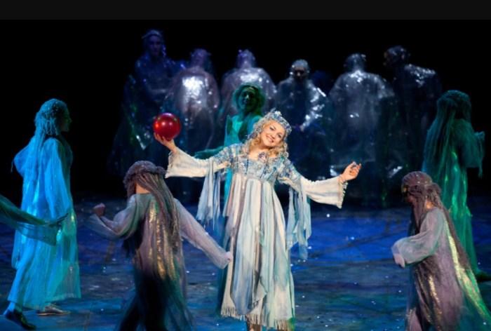 Сцена из оперы «Снегурочка» Николая Римского-Корсакова. / Фото: www.voio.ru