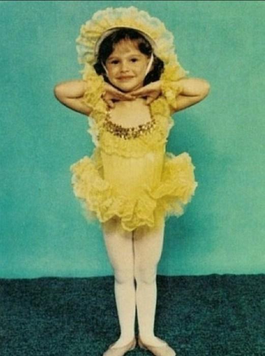 Натали Портман с детства занималась танцами. / Фото: www.2aktera.ru