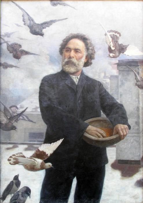 Г. Калмыков «А.И. Куинджи». 1910. / Фото: www.ukrinform.ru