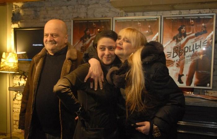 Александр Миндадзе и Галина Орлова с дочерью Катей. / Фото: www.vse-o-kino.ru