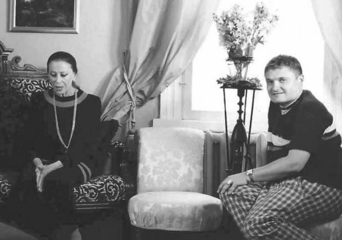 Александр Васильев и Майя Плисецкая. / Фото: www.iknigi.net