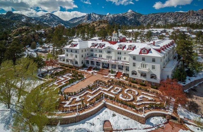 Отель «Стэнли», Эстес-Парк, штат Колорадо. / Фото: www.zvstranicy.ru