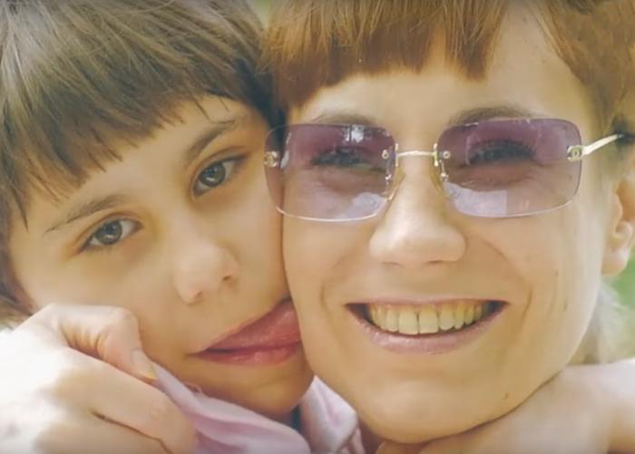 Ольга Тумайкина с дочерью Полиной. / Фото: www.russia.tv