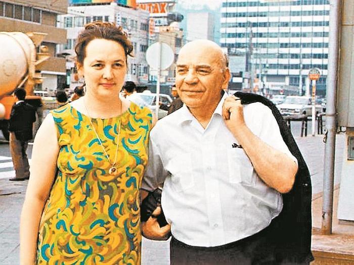 Алексей Грибов и Наталья Валандина. / Фото: www.sobesednik.ru
