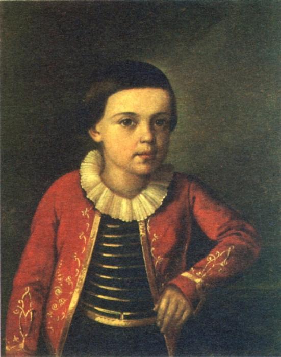 Михаил Лермонтов в детстве. / Фото: www.regnum.ru