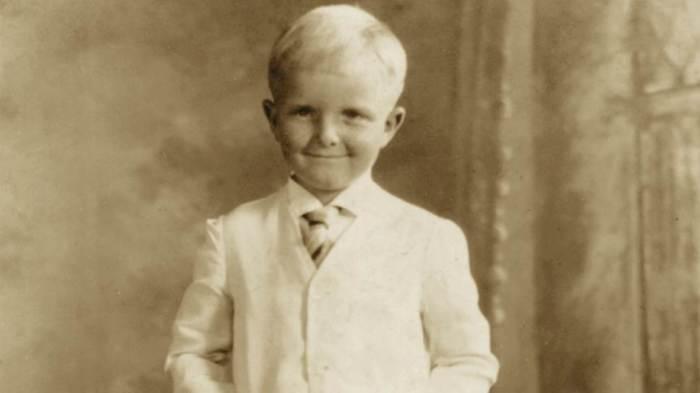 Трумен Капоте в детстве. / Фото: www.kommersant.ru