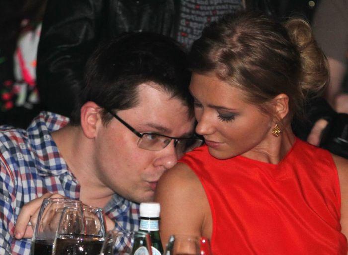 Кристина Асмус и Гарик Харламов. / Фото: www.rusdialog.ru