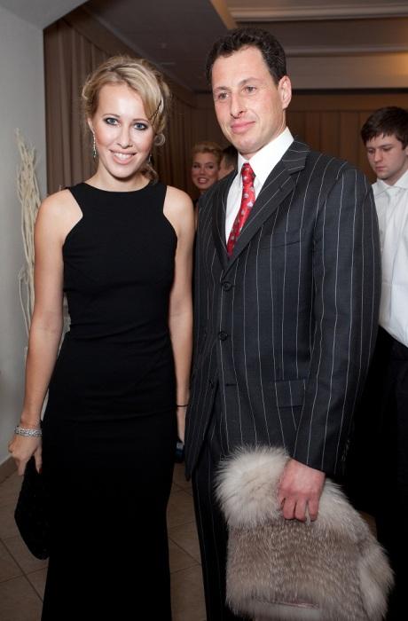 Ксения Собчак и Александр Шустерович. / Фото: www.wmj.ru