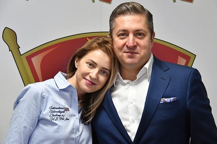 Наталья Поклонская и Иван Соловьёв. / Фото: www.mtdata.ru