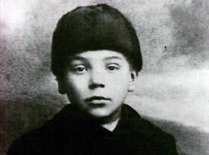 Алексей Грибов в детстве. / Фото: www.tvkultura.ru