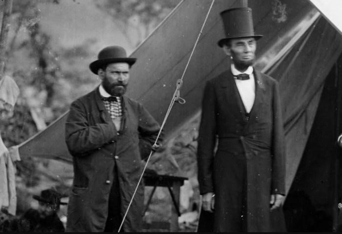 Алан Пинкертон и Авраам Линкольн. / Фото: www.salon.com