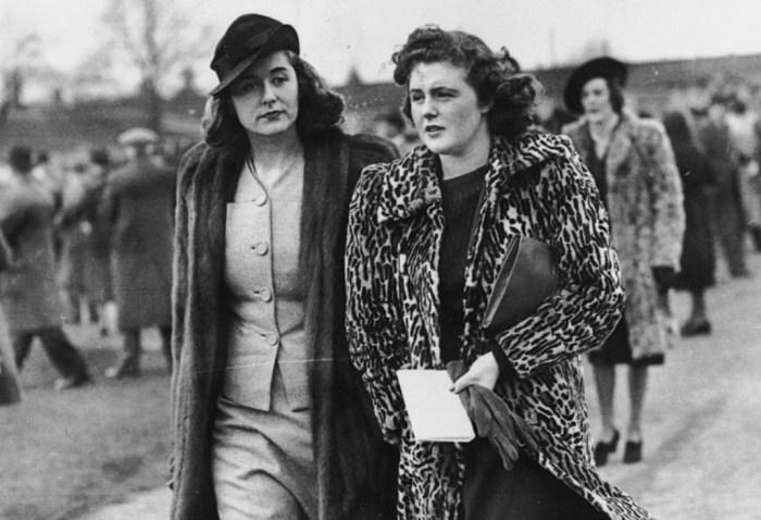 Памела Черчилль и Леди Скотт. / Фото: www.gettyimages.ae