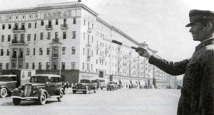 Москва, середина 1940-х. / Фото: www.englishrussia.com