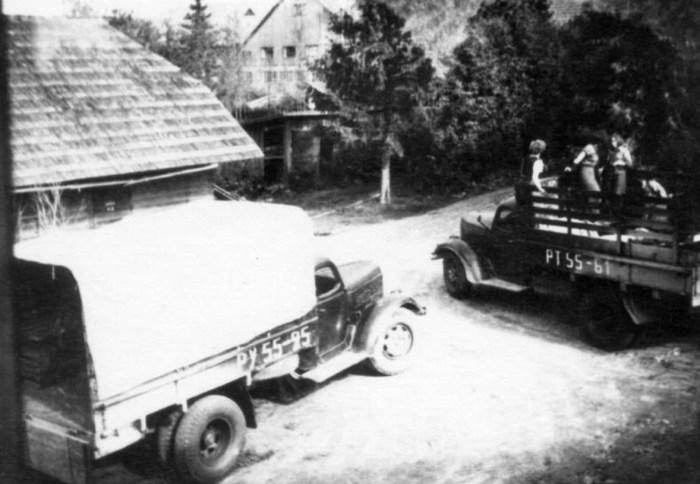Депортация с хутора Сапасе в Вана-Каристе, Вильяндимаа. / Фото: www.estonica.org