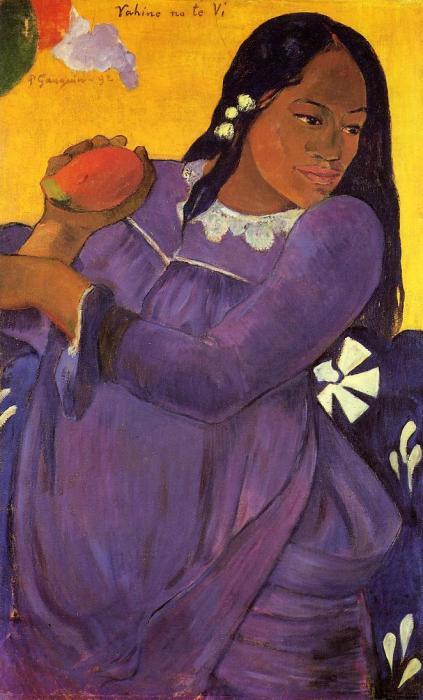Поль Гоген, «Женщина с манго» / Фото: www.поль-гоген.рф