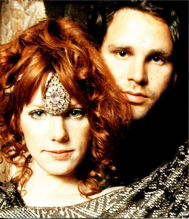 Джим Моррисон и Памела Курсон. / Фото: www.fanpop.com