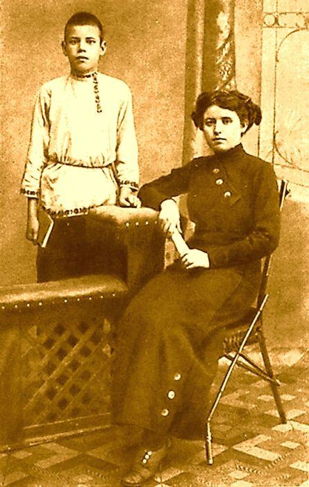 МиÑаил Исаковский и Екатерина Сергеевна Горанская. / Фото: www.mailbonus.ru