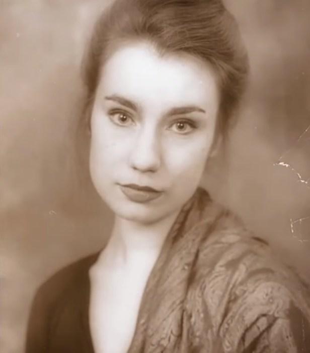 Ольга Тумайкина в юности. / Фото: www.russia.tv