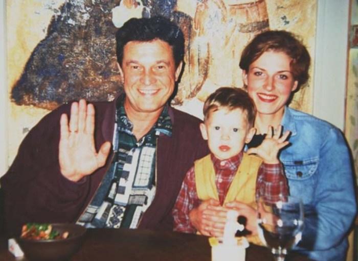 Ивар Калныньш и Аурелия Анужите с сыном. / Фото: www.klassno.top