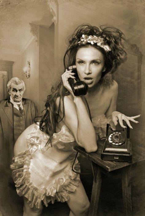 Эвелина Блёданс в роли Геллы. / Фото: www.tvdrama.ru