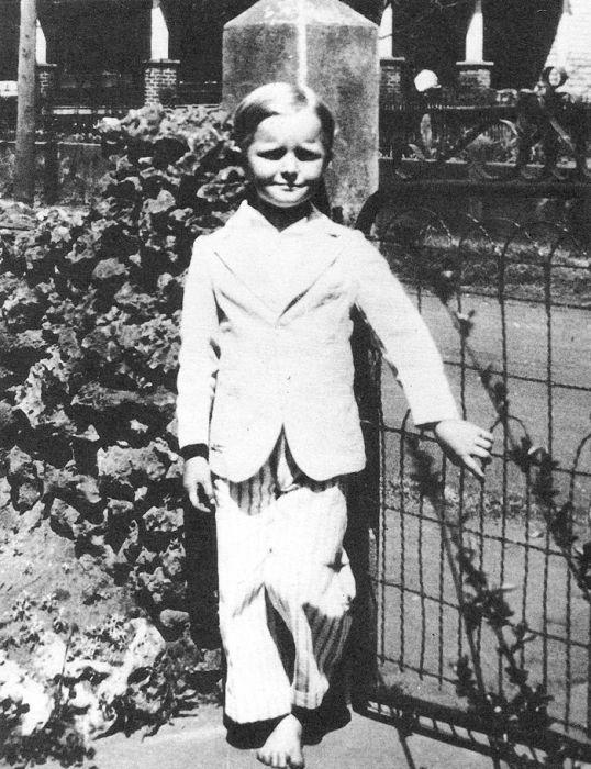 Трумен Капоте в детстве. / Фото: www.pinimg.com