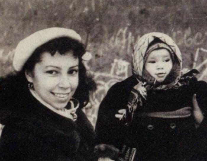Ирина Ротова с дочерью Надеждой. / Фото: www.irma-stream.ru