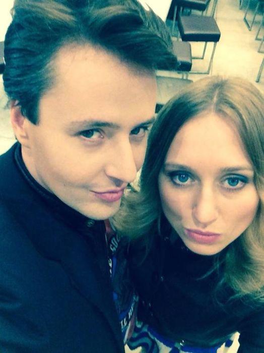 Светлана Гранковская и Витас. / Фото: www.tianya999.com