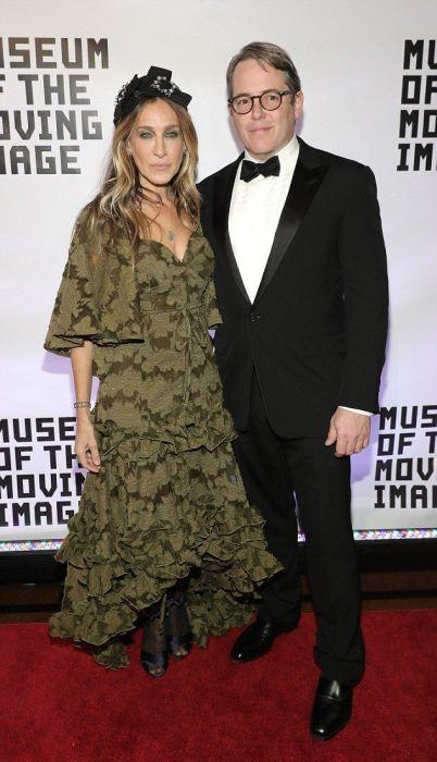 Сара Джессика Паркер и Мэттью Бродерик. / Фото: www.pinimg.com