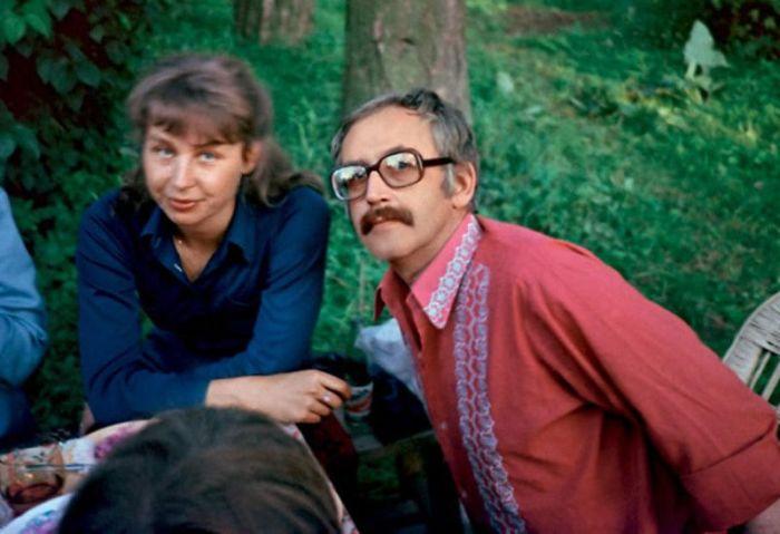 Василий Ливанов с дочерью Анастасией. / Фото: www.7days.ru