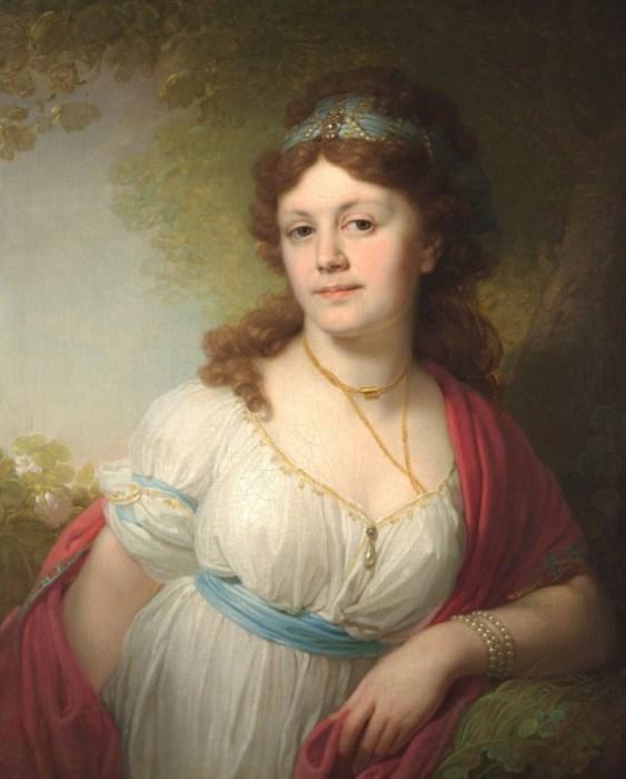 Елизавета Тёмкина, дочь Екатерины II. / Фото: www.gallery.ru
