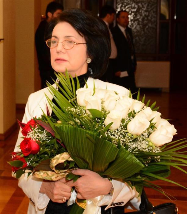 Франгиз Ализаде. / Фото: www.1news.az