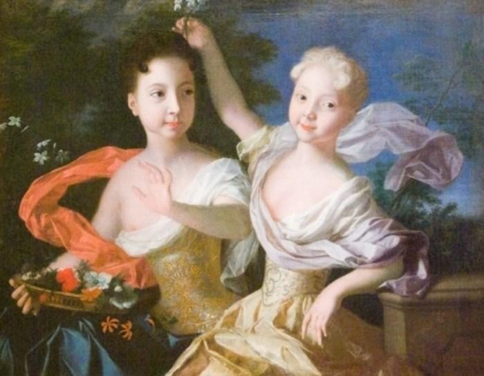 Царевны Анна Петровна и Елизавета Петровна. / Фото: www.wearts.ru