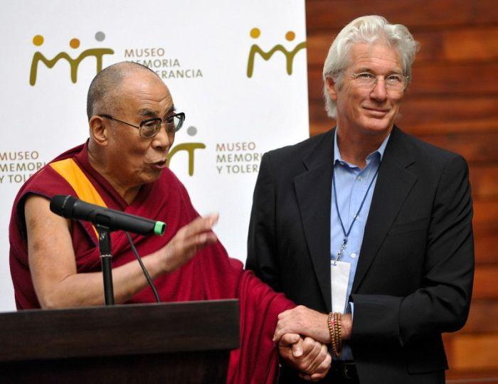 Ричард Гир и Далай Лама. / Фото: www.glavred.info
