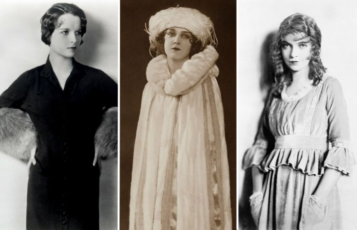 7 самых красивых зарубежных актрис эпохи немого кино