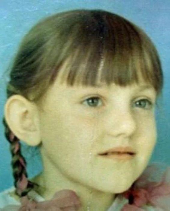 Инга Оболдина в детстве. / Фото: www.biografii.net