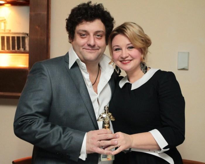 Михаил и Лариса Полицеймако. / Фото: www.debop.ru