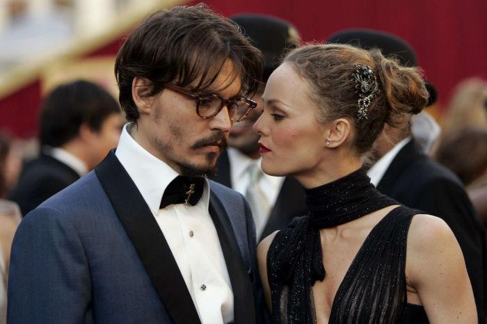 Джонни Депп и Ванесса Паради. / Фото: www.star24.tv