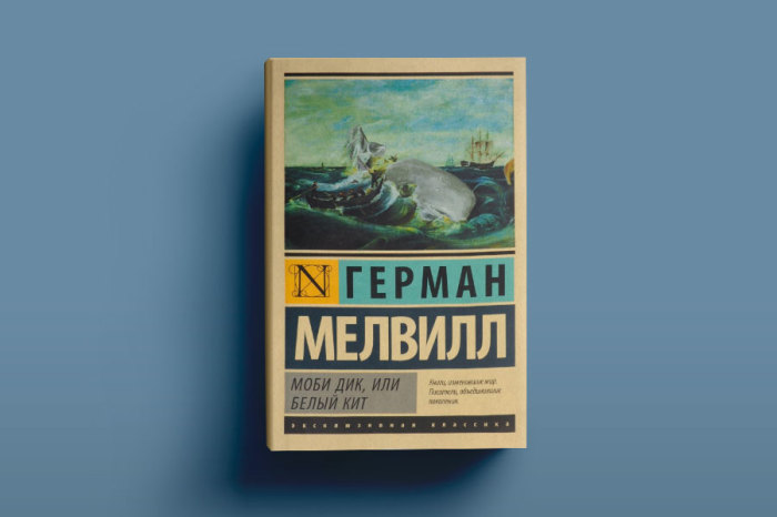 «Моби Дик, или Белый Кит», Герман Мелвилл. / Фото: www.sochi.scapp.ru